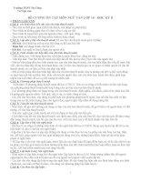 đề cương ôn tập HKII môn ngữ văn khối 10