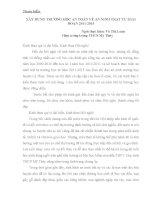 XÂY DỰNG TRƯỜNG học AN TOÀN về AN NINH TRẬT tự GIAI đoạn 2011 2015    võ thị loan   HT