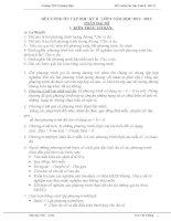 Đề cương ôn tập Toán 8. học kì 2 (Dành cho học sinh trung bình và yếu)