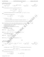20 đề ôn thi HK2 lớp 11 có đáp án chính xác