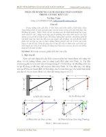 phân tích những cách giải bài toán conxon trong cơ học kết cấu