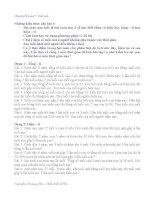 Chuyên đề tính tuổi lơp 4,5