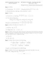 Đề + đáp án học sinh giỏi toán 7