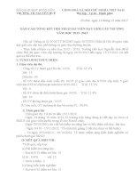 Báo cáo tổng kết hội thi GVDG cấp trường 12-13
