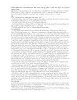 Chất kịch tính và trữ tình trong truyện ngắn Chiếc lược Ngà của Nguyễn Quang Sángg