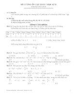 Đề cương ôn tập học kì 2 toán 7(2012-13)