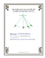 Tuyển tập 41 chuyên đề Vật lý luyện thi Đại học của thầy Vũ Đình Hoàng