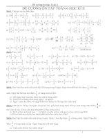 Đề cương ôn tập toán 6 HKII 2013