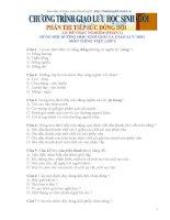 Đê ôn tập Tiếng Việt nâng cao lớp 5