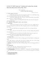 GIÁO ÁN NGỮ VĂN 7 CHUẨN KIẾN THỨC KỸ NĂNG MỚI