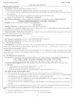 Các dạng bài tập chương Nguyên Tử  Hóa 10