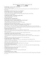Đề Cương Ôn Thi HKII môn Ngữ Văn 9