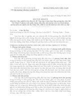Bài thu hoạch học tập và làm theo tấm gương đạo đức Hồ Chí Minh năm 2013