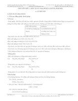 Ly thuyet dan xuat halogen-ancol-phenol