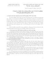 Công tác chuẩn bị và những điểm mới về thi tốt nghiệp THPT năm 2013