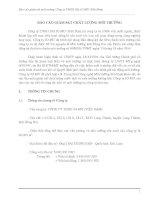 báo cáo giám sát môi trường công ty tnhh dệt jo mu (việt nam)