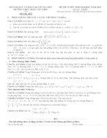 đề , đáp án thi thử đại học 2012-2013 thpt Chau Van Liem Can tho