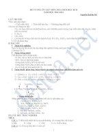 đề cương ôn tập học kì II-hóa 10