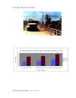 Lồng ghép các vấn đề bảo vệ môi trường trong quy hoạch phát triển và khai thác hệ thống giao thông đường bộ tại Hà Nội giai đoan 2010 - 2020