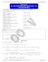 Bài 4. Các phép biến đổi lượng giác Phần 2