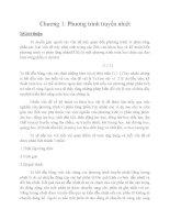 bài toán biên của phương trình truyền nhiệt