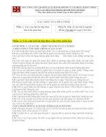 đề cương ôn thi môn luật hành chính và tài phàn hành chính