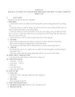 GA Bài 38. Các nhân tố ảnh hưởng đến sinh trưởng và phát triển ở động vật