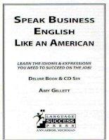Luyện nói tiếng anh trong kinh doanh như người mỹ