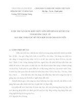 Dạy học tích hợp liên môn Toán 9 TIẾT 42: Luyện tập GIẢI BÀI TOÁN BẰNG CÁCH LẬP HỆ PHƯƠNG TRÌNH