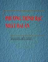 bài giảng đại số 9 chương 3 bài 1 phương trình bậc nhất hai ẩn