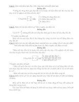 Bộ câu hỏi và đáp án lý thuyết ôn thi lý 9 lên 10