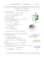Tổng hợp công thức và lý thuyết Vật Lý giúp ôn thi đại học nhanh môn Vật Lý