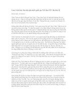 Bức thư đạt giải Nhất cuộc thi viết thư Quốc tế UPU lần 42