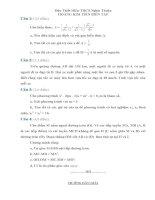 Đề và đáp án thi vào lớp 10 tỉnh Nghệ An 2013 - 2014