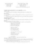 đề thi thử ĐH môn văn 2013