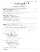 chuyên đề luyện thi đại học môn toán phần khảo sát hàm số