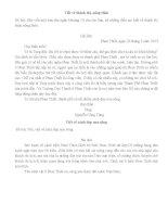Tổng hợp các bài văn lớp 3