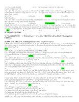 Đề thi thử đại học chuyên ĐHSP hà nội lần 5(có đáp án chi tiết rất hay)