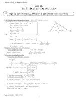 Chuyên đề hình không gian cổ điển (Full)