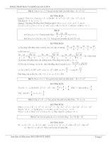 50 Bài toán hay và khó đại số 9