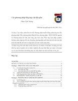 Các phương pháp tổng hợp vật liệu gốm   luận văn, đồ án, đề tài tốt nghiệp