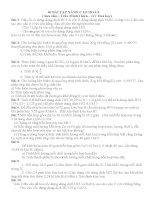 40 bài tập nâng cao hóa 8