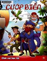 chơi vui học tài-cướp biển (nxb kim đồng 2010) - phạm quang vinh, 34 trang