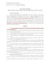 Bai thu hoach Chinh tri he 2013 VNK