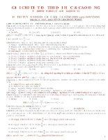 giải chi tiết đề đại học các năm 2008-2013