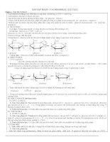 lý thuyết và bài tập glucozo cực hay
