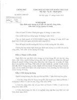 NĐ 66.2013 CỦA CHÍNH PHỦ VỀ MỨC LUƠNG TỐI THIỂU