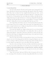 Tiểu luận: Hình tượng con người cô đơn trong tiểu thuyết Thiên Sứ - của Phạm Thị Hoài