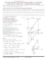 Bài giải chi tiết đề thi ĐH môn Vật lý 2013