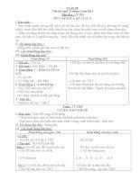 giáo án lớp 4 chuẩn nhất (Dung -hoàng hải )